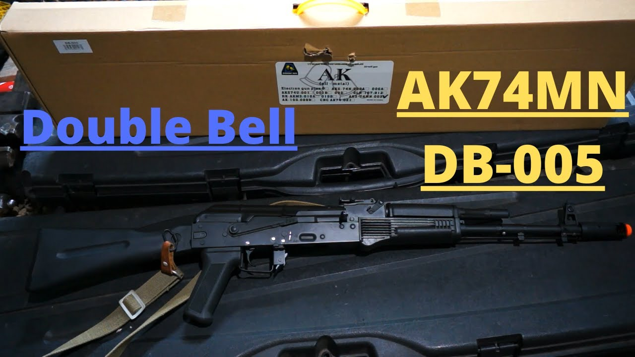 Critique d'Airsoft Double Bell AK74MN (DB-005)