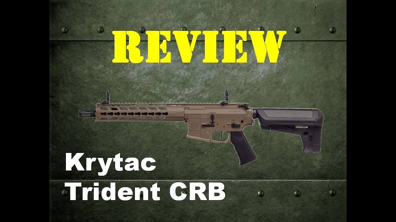 Évaluation de Krytac Trident CRB – Osok Airsoft Team