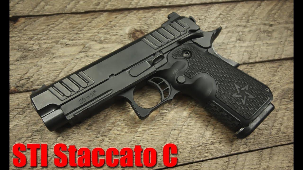 Revue STI Staccato C: le pistolet compact le plus précis