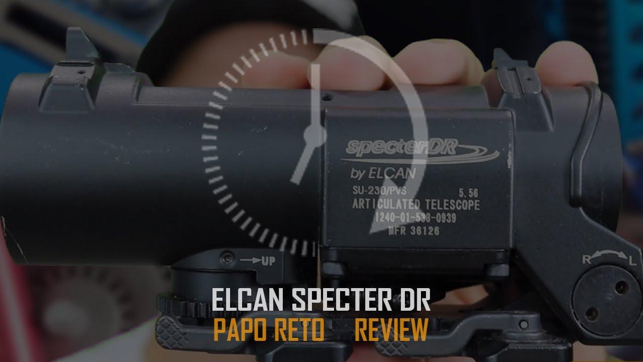 REVUE ELCAN SPECTRE 4X 1X