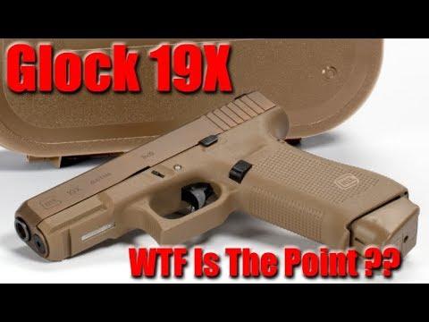 Nouveau Glock 19X: pourquoi je ne vais pas l'acheter