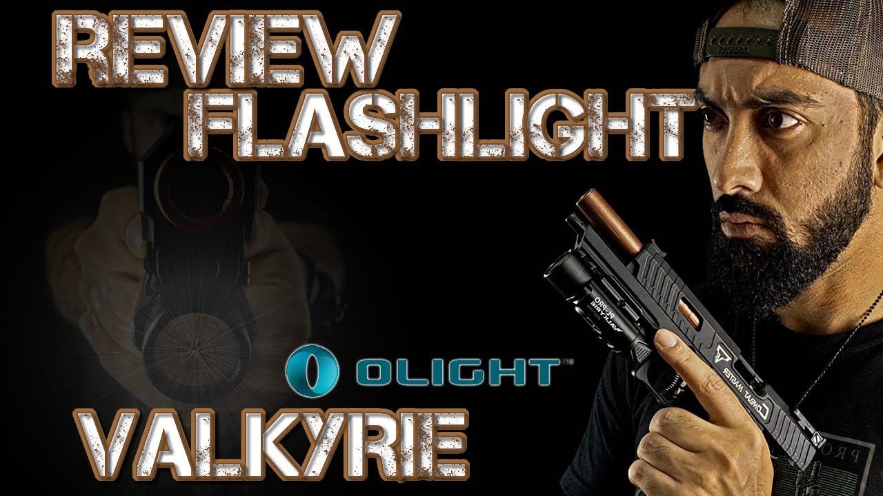 Lampe de poche Review OLIGHT VALKYRIE PL PRO 1 500 PISTOLETS LUMENS / ENG SUBTITLES