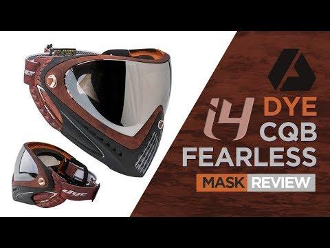 Plus de BB au visage   Masque thermique DYE i4 – Airsoft Review en espagnol