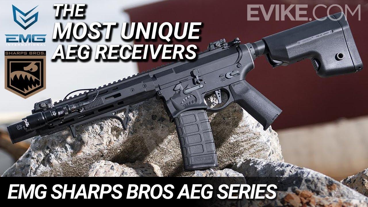 Les récepteurs AEG les plus uniques – EMG Sharps Bros AEG Series – Review