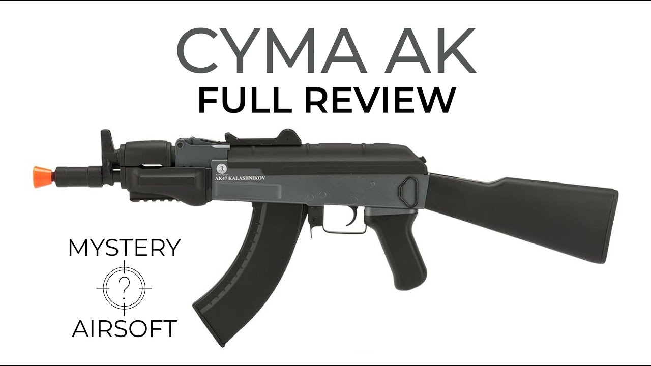Cybergun CYMA AK Commentaire complet – Airsoft