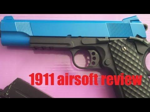 Test de l'airsoft Raven 1911 Meu Series