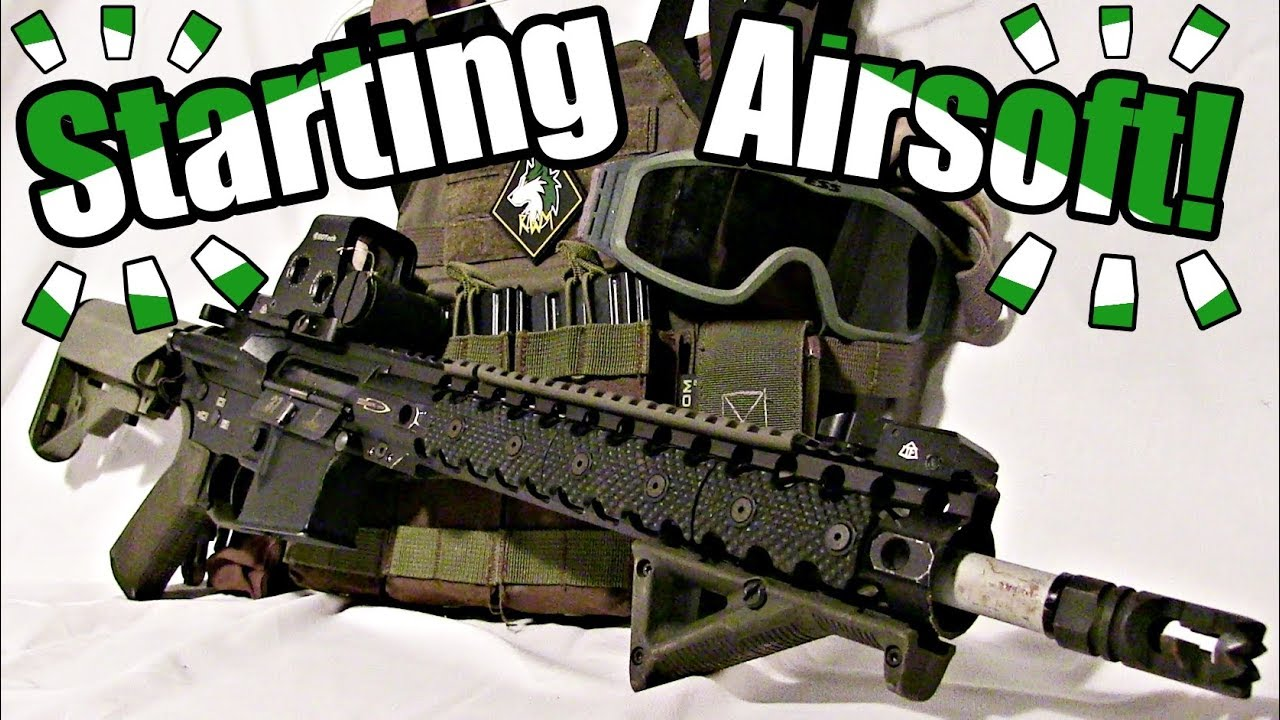 COMMENT DÉMARRER AIRSOFT! – [Complete Guide for Beginner Airsoft Players]