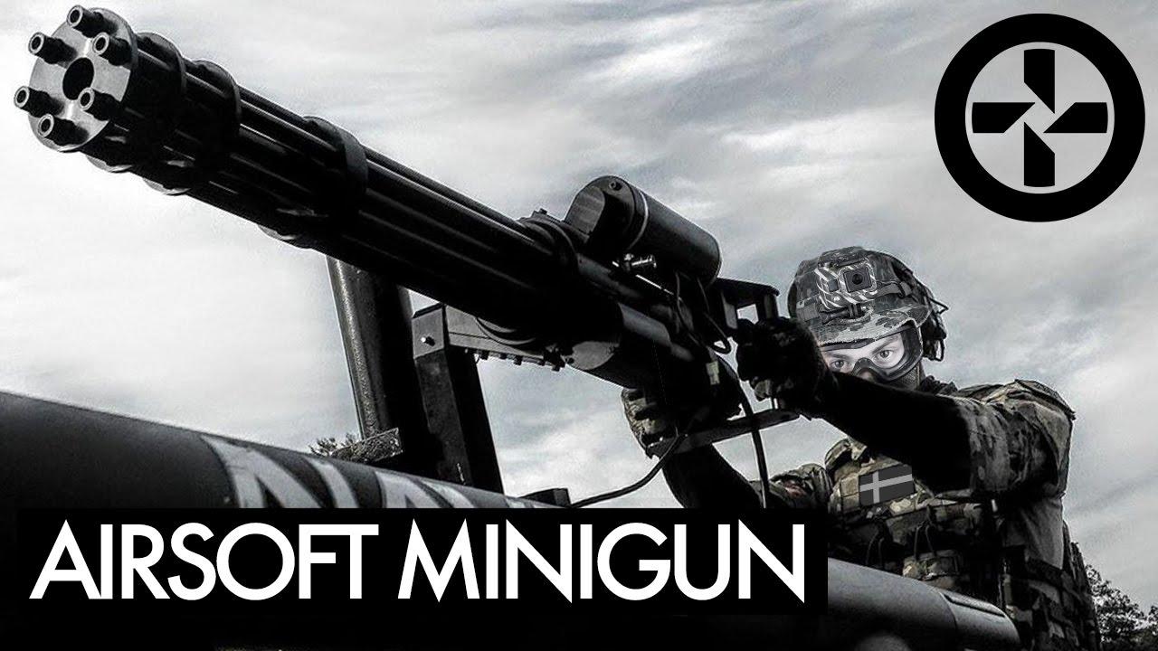 AIRSOFT MINIGUN monté sur camion – BERGET 14 – Partie 1