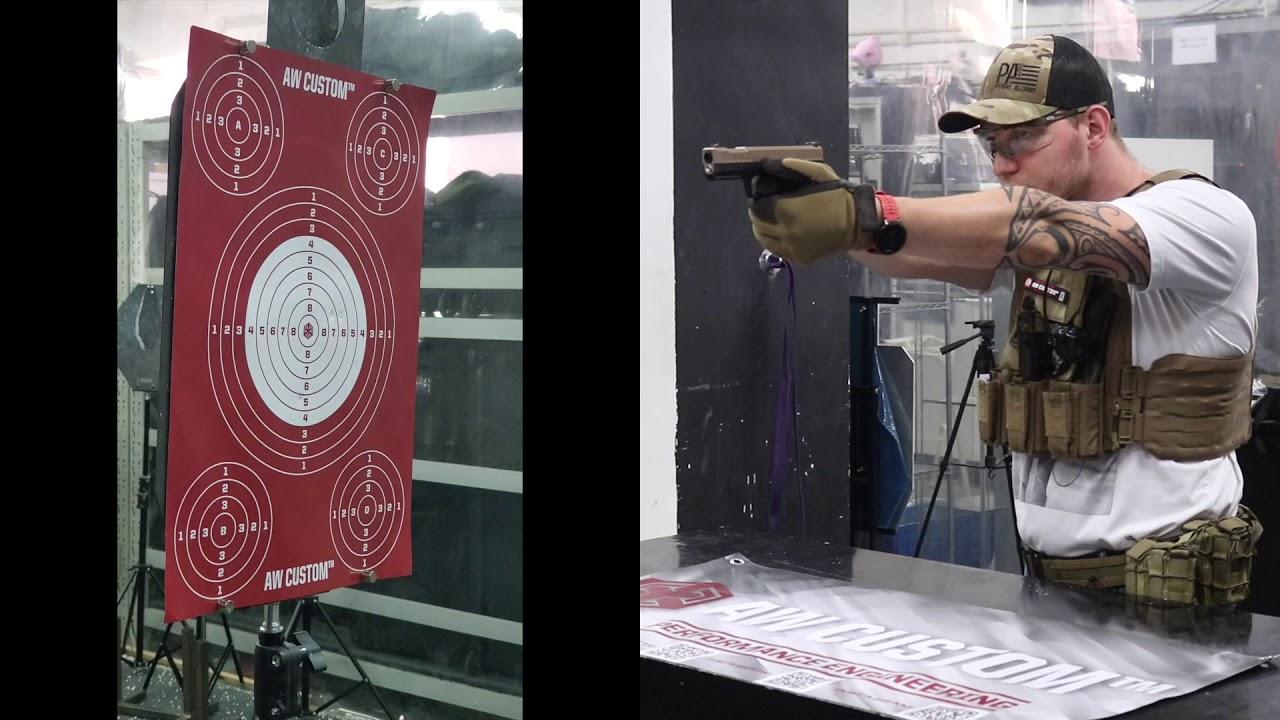 Examen du pistolet Archon Type B AW X EMG