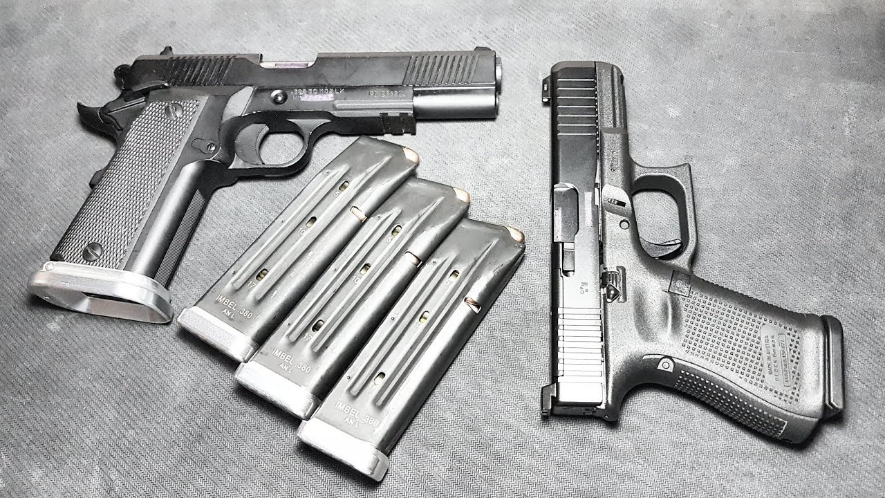 Répondre: des pièces pour Imbel? Est-ce que Glock G23 .40sw est bon? Vous vous entraînez avec Airsoft? L'âge minimum est de 21 ans?