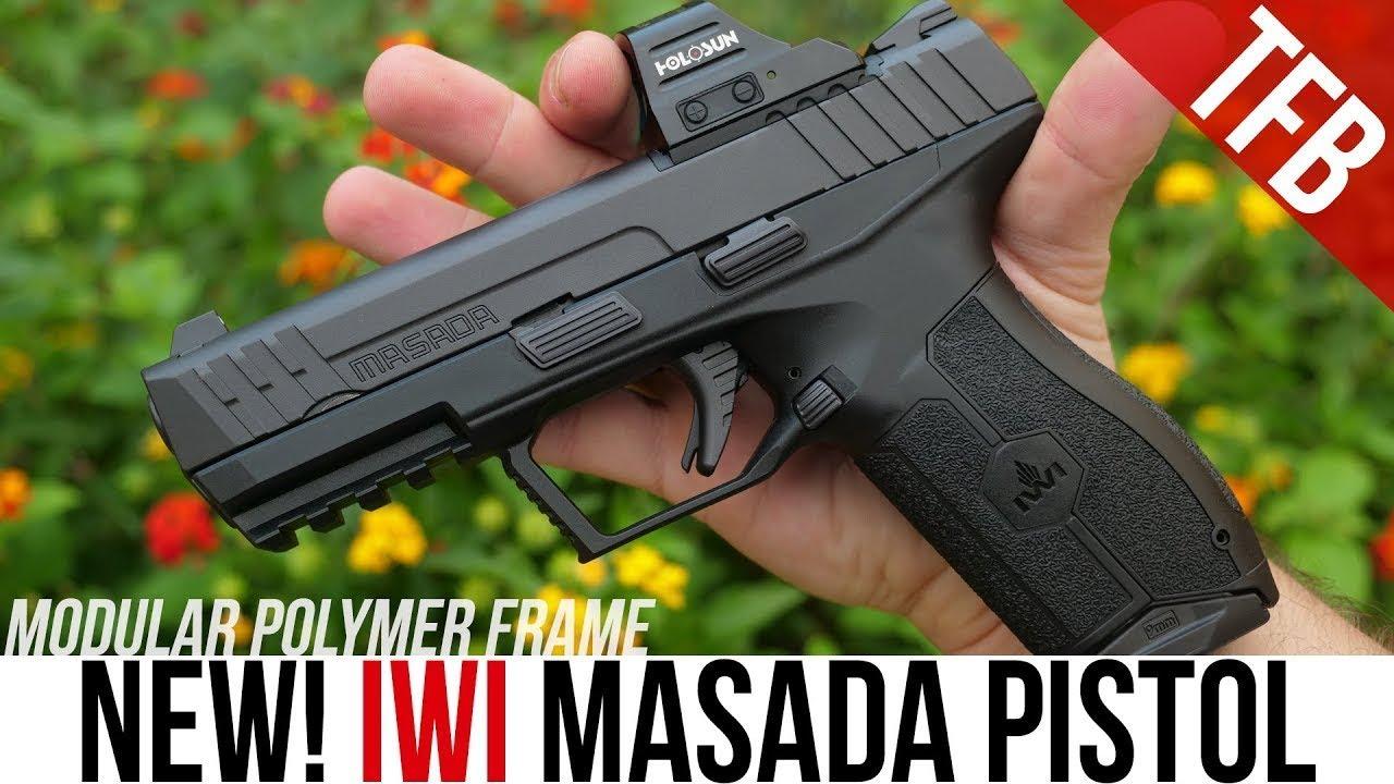 La NOUVELLE revue du pistolet IWI Masada: un Glock 17 israélien, ou quelque chose d'autre?