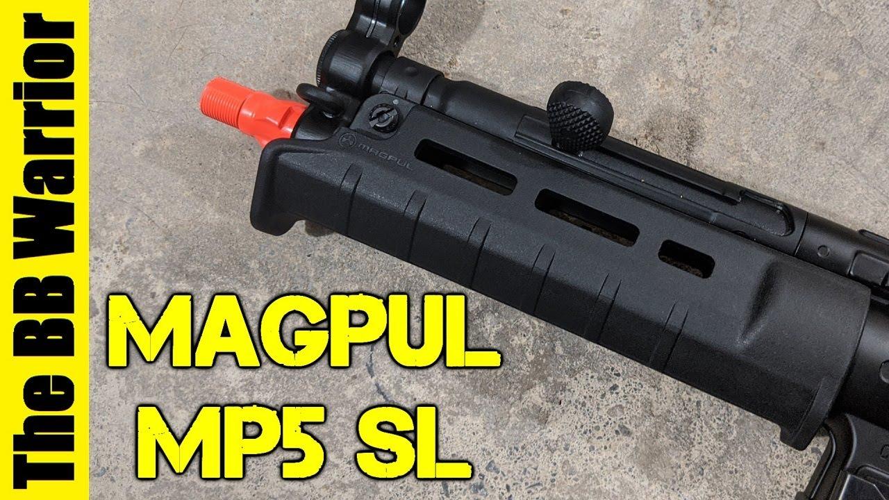 Le MEILLEUR garde-main MP5? Présentation de Magpul MP5 SL Handguard