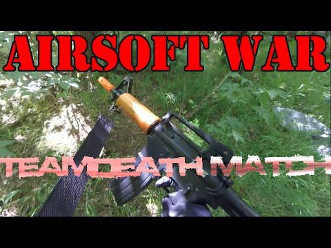 "Airsoft War- Teamdeath Match ""Bienvenue à Airsoft!"" (Project Z Rifle)"