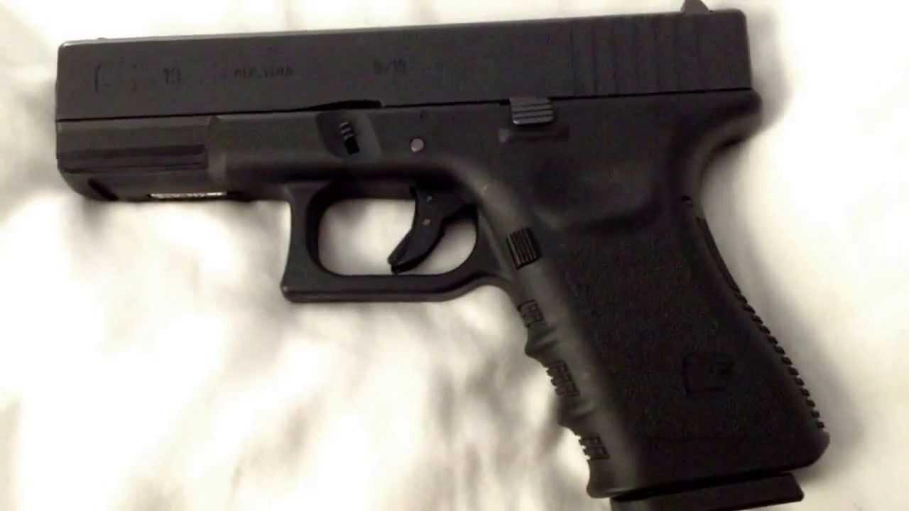 Revue des armes airsoft We Glock 19