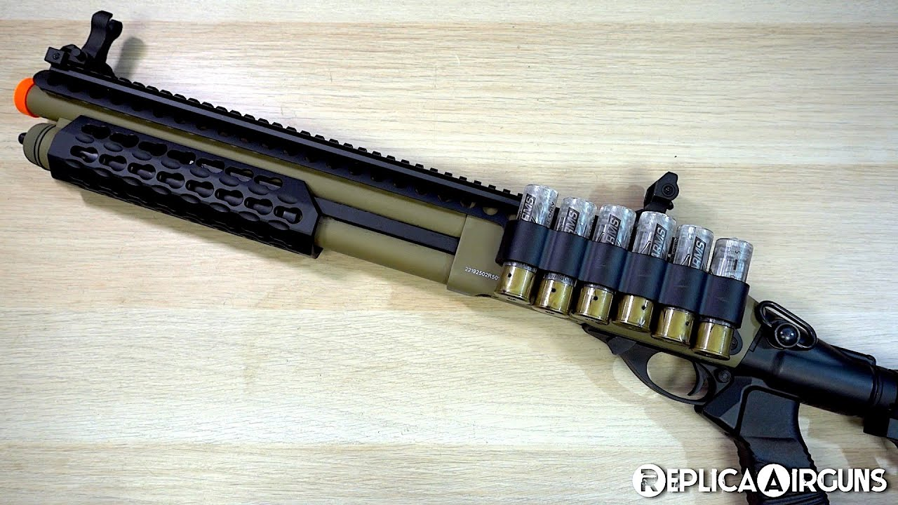 Jag Arms SPX2 Scattergun Green Gas Airsoft Shotgun Table Top Review