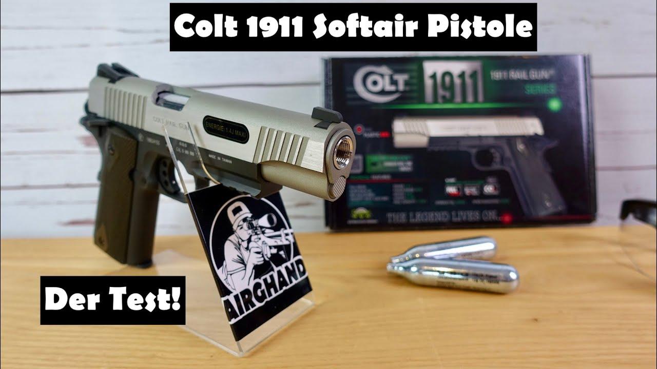Pistolet Airsoft Colt 1911 Railgun – Mon test et test