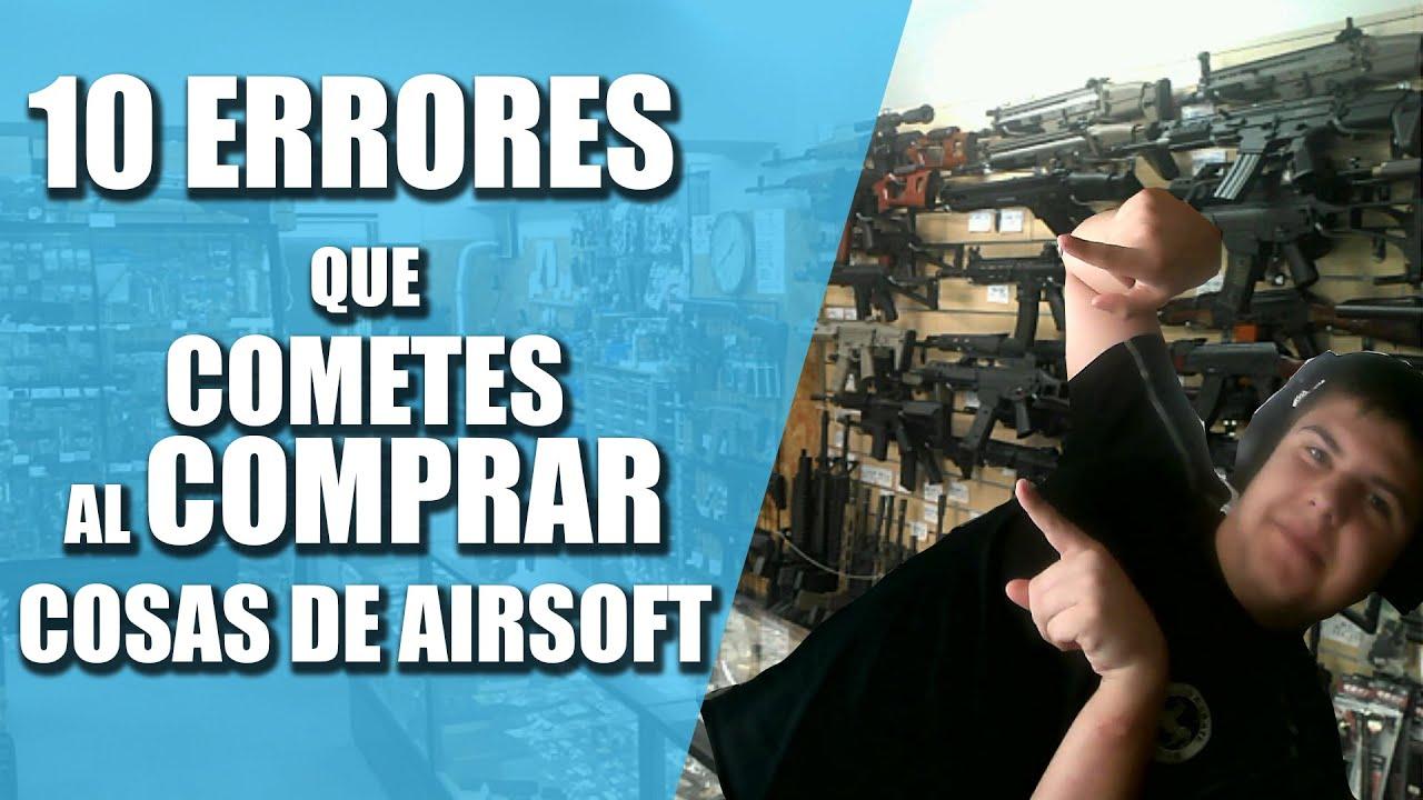 LES 10 ERREURS QUE VOUS FAITES EN ACHETANT DES PRODUITS AIRSOFT    Guide d'achat # 2    Airsoft pour TOUS