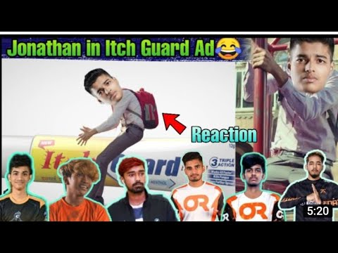 Streamer Reaction To Jonathan Itch Guard Video 😂 Ft. Tanmay bhat, Scout, OR Mavi, ClutchGod