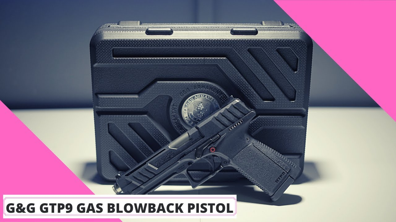 Pistolet Airsoft G&G GTP9 Gas Blowback [REVIEW]