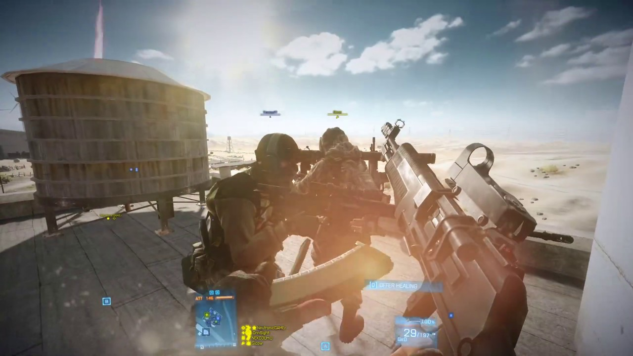Battlefield 3 Loadout: An-94 Rush Nebandan Flats Hackusations 21-3