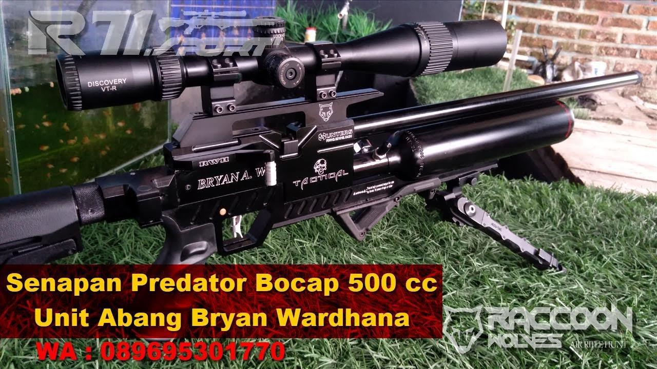 Abang Bryan's 500cc Raccoon Predator Rifle Unit