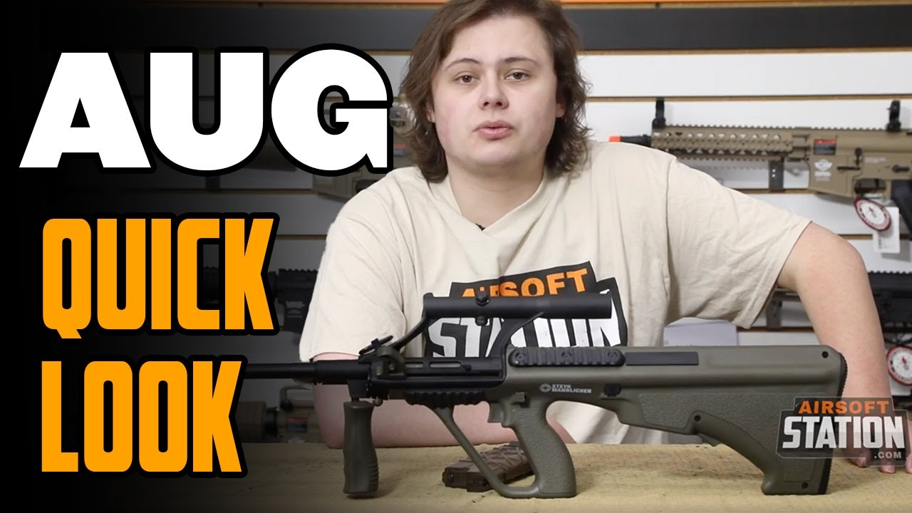 AUG Airsoft Rifle – (Pocket Sniper Rifle?)