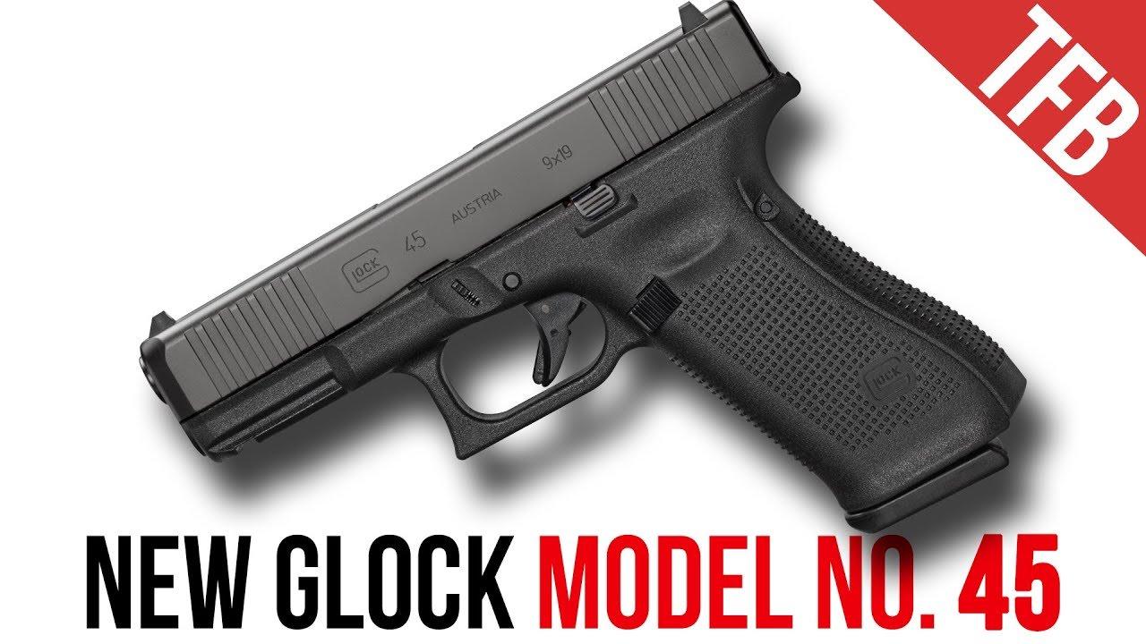 NOUVEAU Glock Mod. 45! (Non, ce n'est pas seulement un noir 19X)