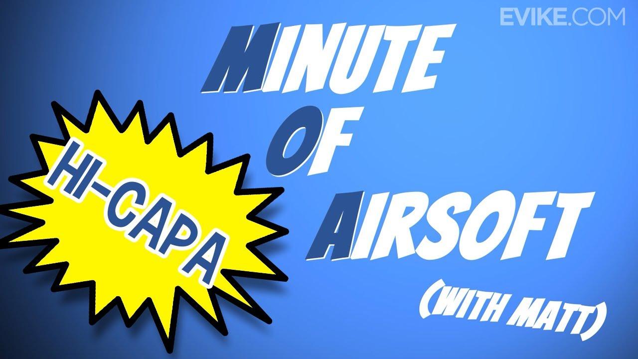 Pourquoi les pistolets Hi-Capa sont-ils si populaires? – Minute d'Airsoft