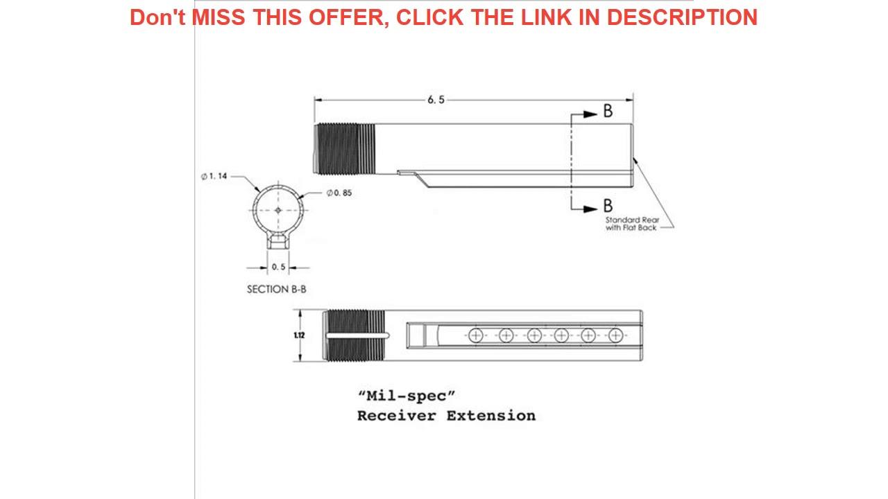 Examen SINAIRSOFT Haute Qualité 6 Position Stock Pipe Pour Airsoft AEG M4 / M16 Paintball Acces Chasse
