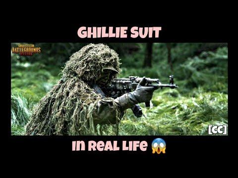 PUBG Mobile – Ghillie Suit dans la vraie vie | Ghillie Suit dans Pubg Mobile [CC]