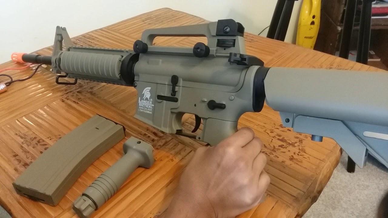 Revue du pistolet airsoft Lancer Tactical LT-04