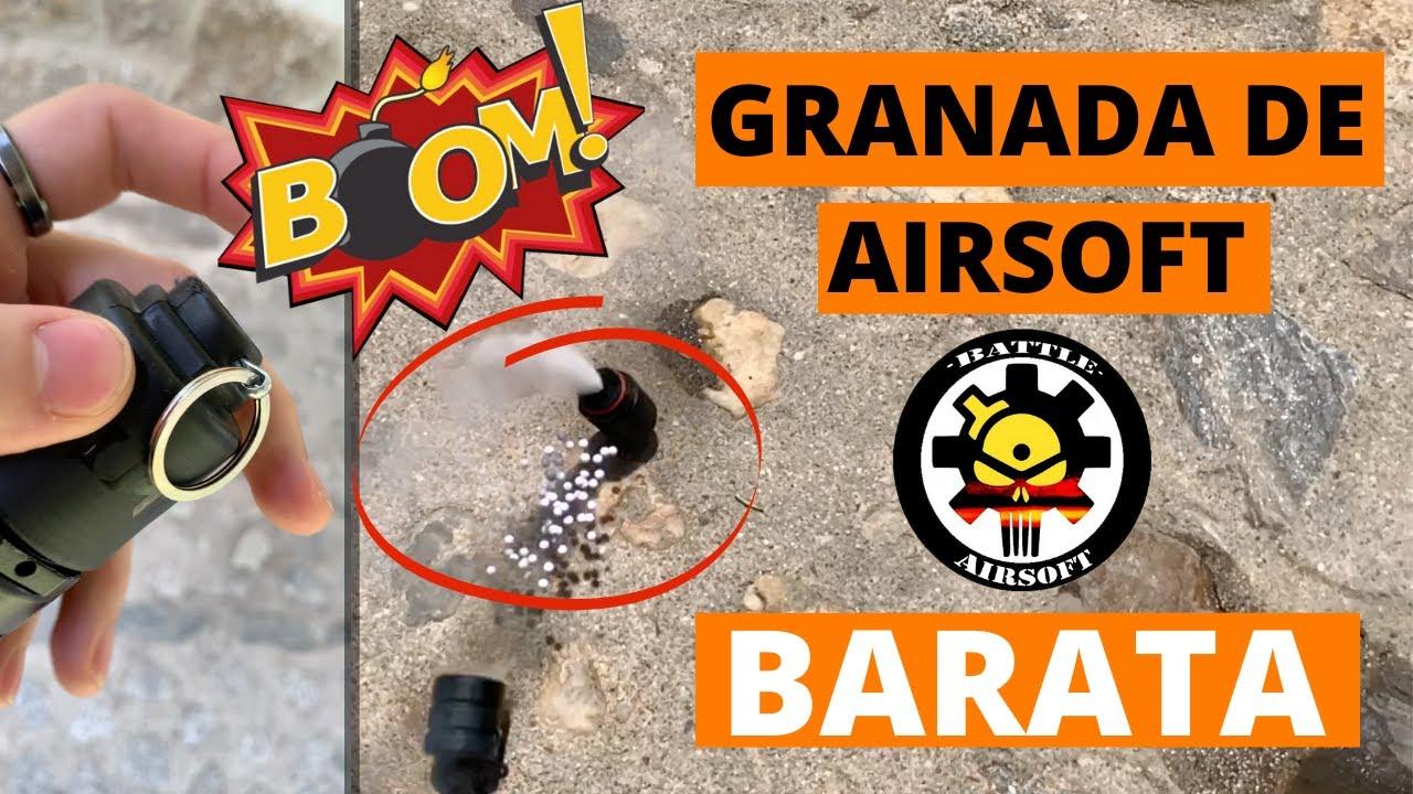 Grenade airsoft PAS CHER (Kimera) Comment utiliser une grenade airsoft?