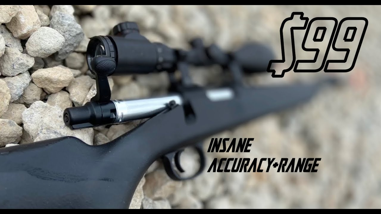 MEILLEUR Sniper Airsoft à moins de 100 $! Revue + Gameplay – CYMA VSR-10