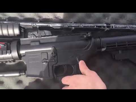 Déballage de carabine Airsoft électrique M83