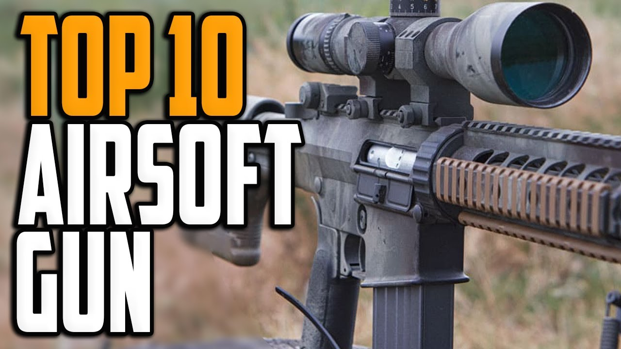 Meilleurs pistolets Airsoft 2020 – Top 10 des avis sur les pistolets Airsoft