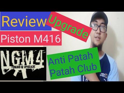Examen du piston dcobra M416 amélioré par NGM4