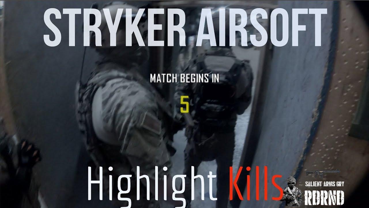 Stryker Airsoft met en évidence des morts