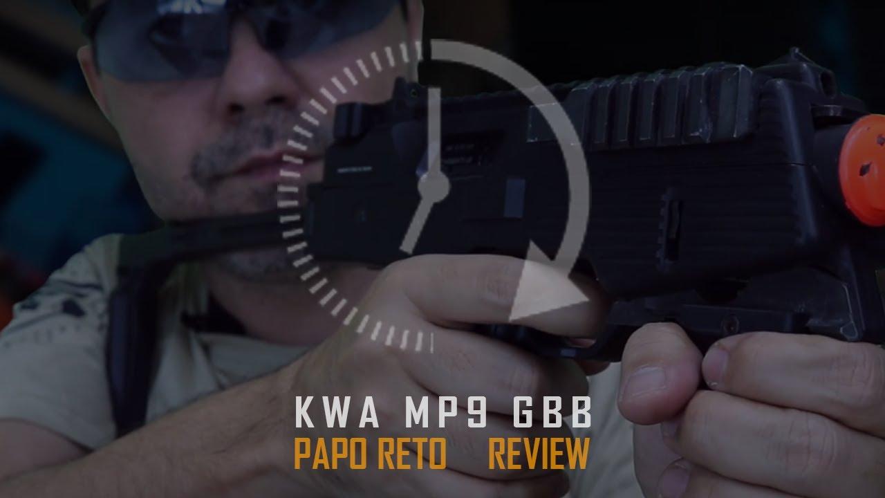 REVUE SUPÉRIEURE DU KWA MP9 GBB SUB