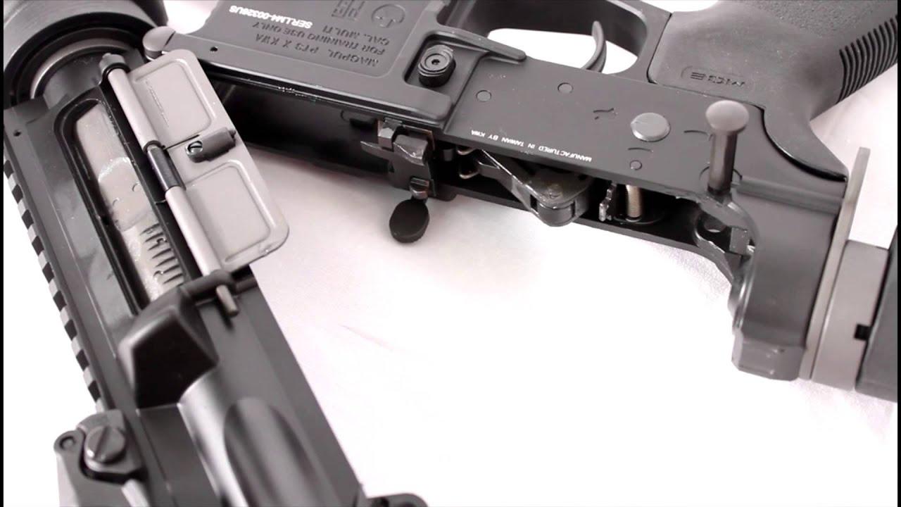 Examen AEX du pistolet airsoft KWA LM4 Gas Blowback