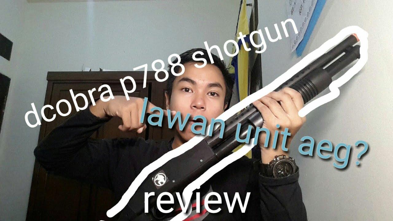 #airsoft #dcobra #shotgun #sport Review unit printemps p788 fusil de chasse dcobra | zuhair fakhriy