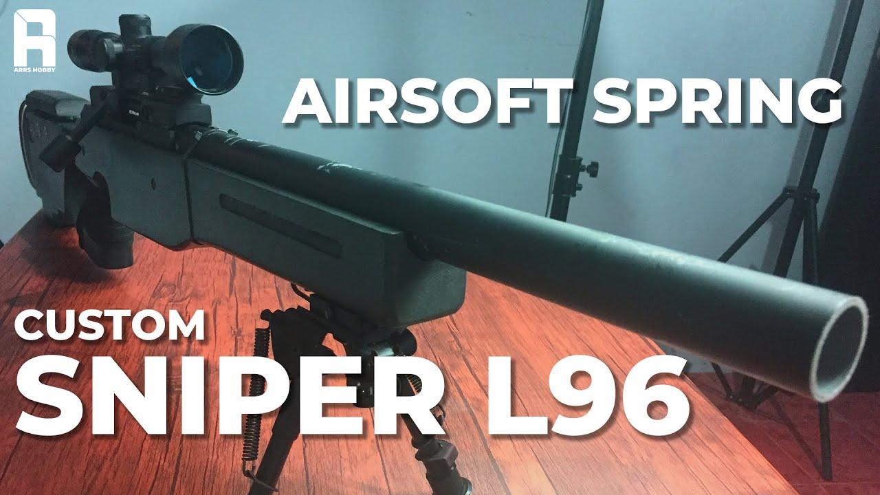 Avis sur Airsoft Custom Sniper L96