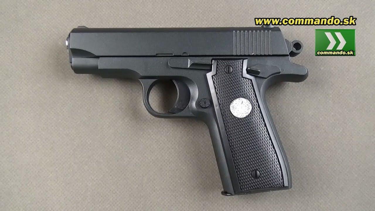 Airsoft Pistol Galaxy G2 Full Metal Spring 6mm