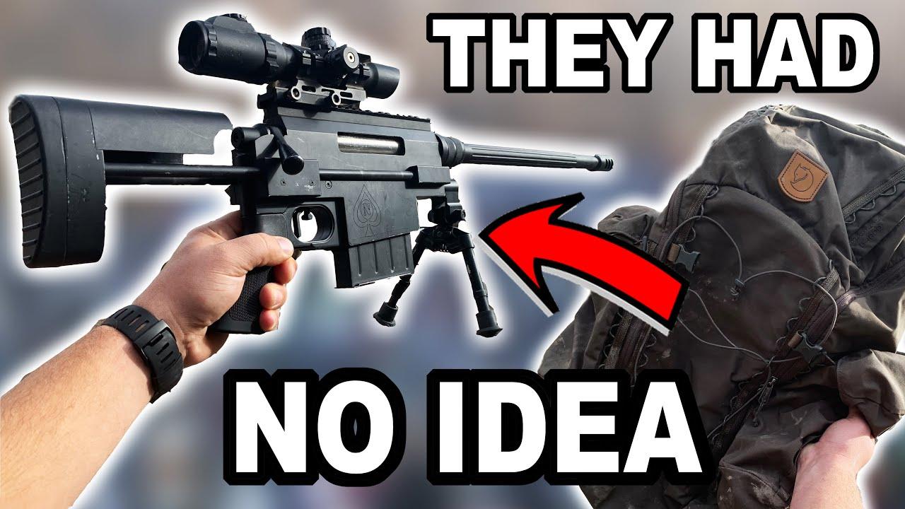 Sac à dos Sniper SURPRISE   Nemesis Arms Vanquish   Tireur d'élite des marais