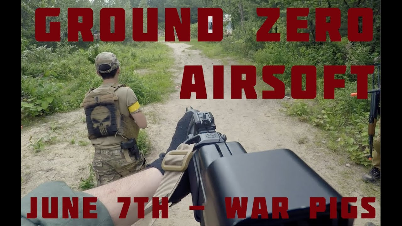 Ground Zero Airsoft – War Pigs – GZA Connecticut Airsoft Gameplay