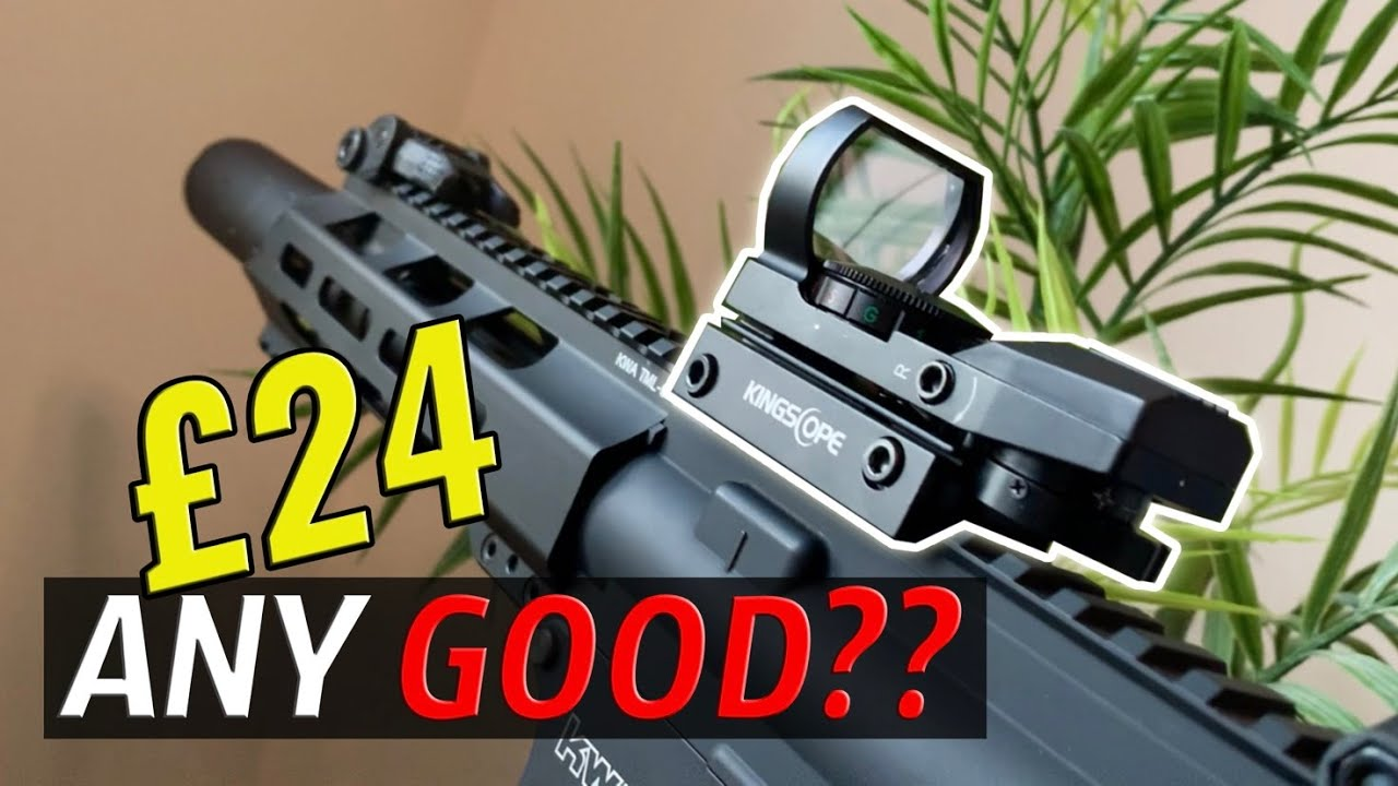 Ce BUDGET Red Dot Sight est-il bon? | Airsoft Unboxing & Review