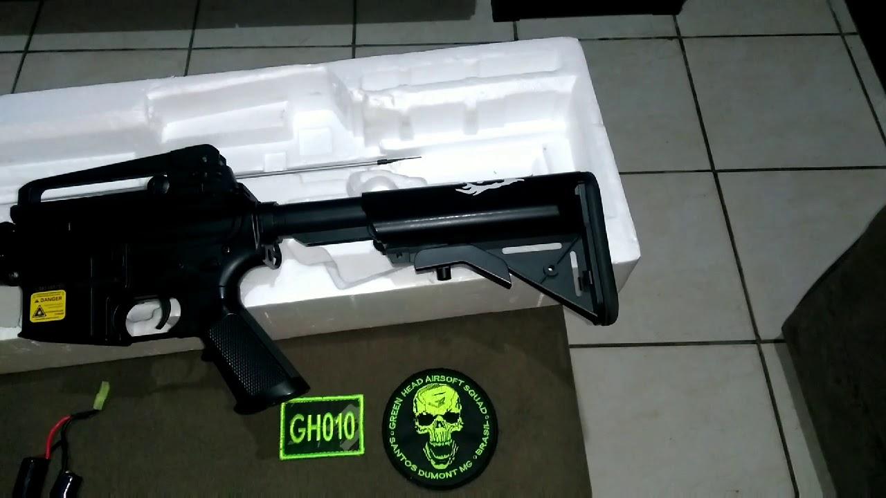 REVUE: Fusil Airsoft M4 STANDARD M4 / Cm507