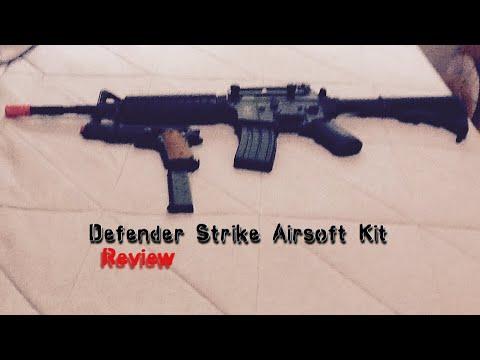 Revue du kit GameFace Defender Strike Airsoft
