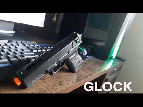Meilleur pistolet électrique Airsoft Glock G18C (CM-030) de CYMA Airsoft