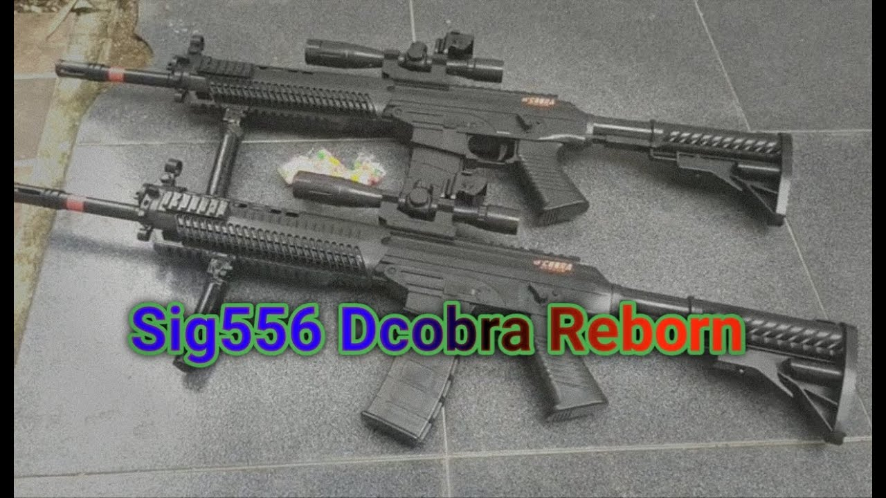 Évaluation du produit Airsoft Spring Dcobra Reborn Sig556 (AirsoftSpringStore)
