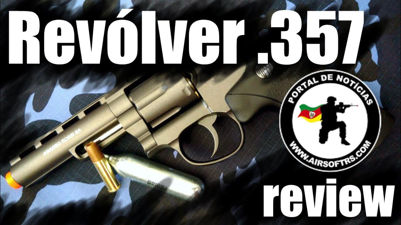 Revue Rossi .357 Airsoft Revolver